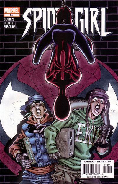 Cover for Spider-Girl (Marvel, 1998 series) #74
