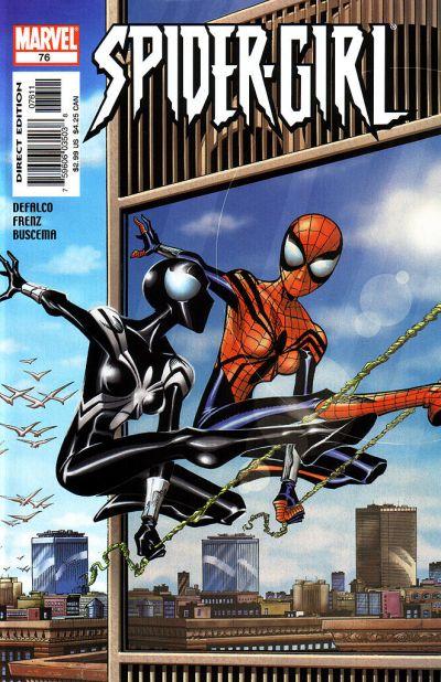 Cover for Spider-Girl (Marvel, 1998 series) #76