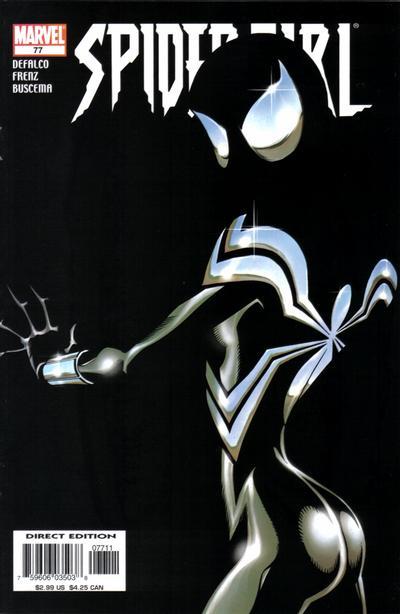 Cover for Spider-Girl (Marvel, 1998 series) #77