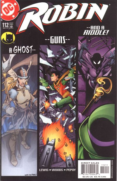 Cover for Robin (DC, 1993 series) #112