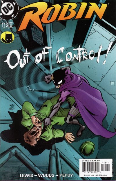 Cover for Robin (DC, 1993 series) #113