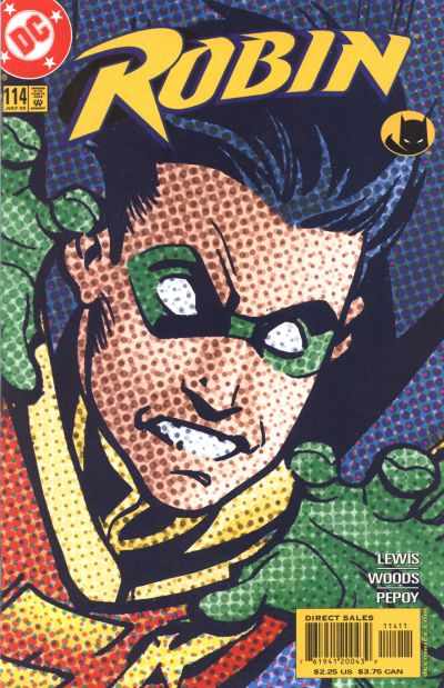 Cover for Robin (DC, 1993 series) #114