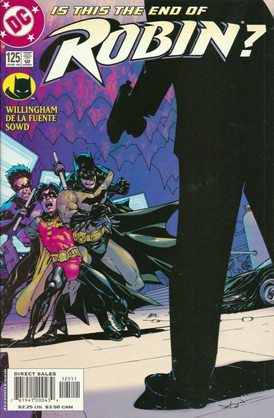 Cover for Robin (DC, 1993 series) #125