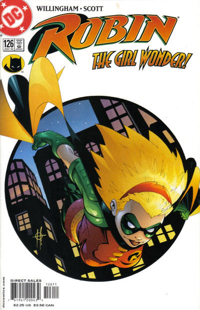 Cover for Robin (DC, 1993 series) #126 [Direct Sales]