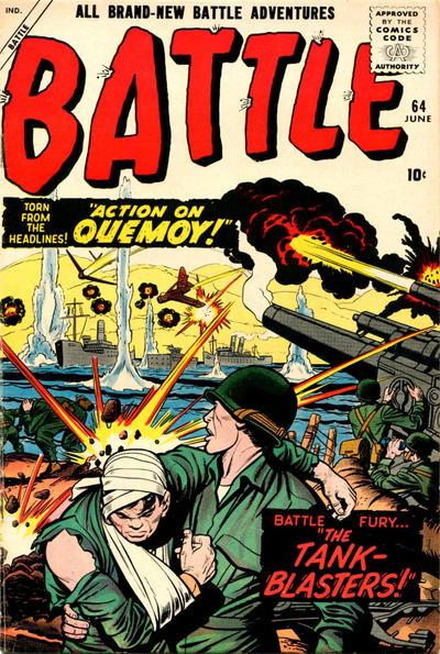 Cover for Battle (Marvel, 1951 series) #64
