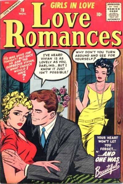 Cover for Love Romances (Marvel, 1949 series) #78