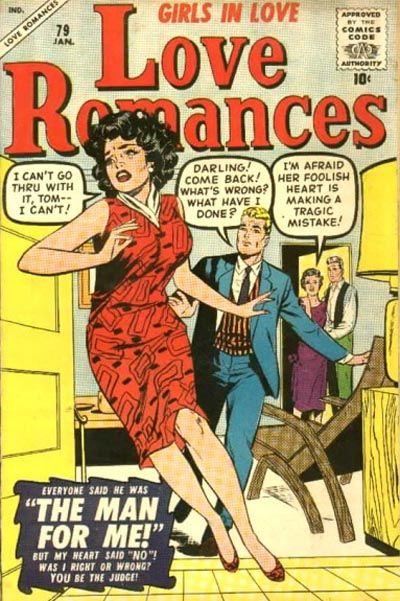 Cover for Love Romances (Marvel, 1949 series) #79