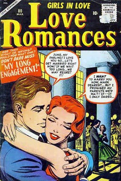 Cover for Love Romances (Marvel, 1949 series) #80