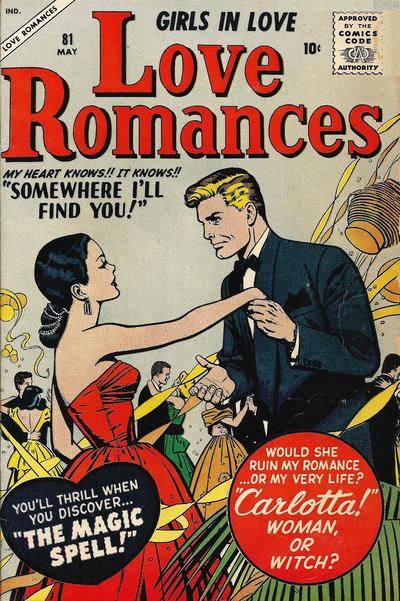 Cover for Love Romances (Marvel, 1949 series) #81