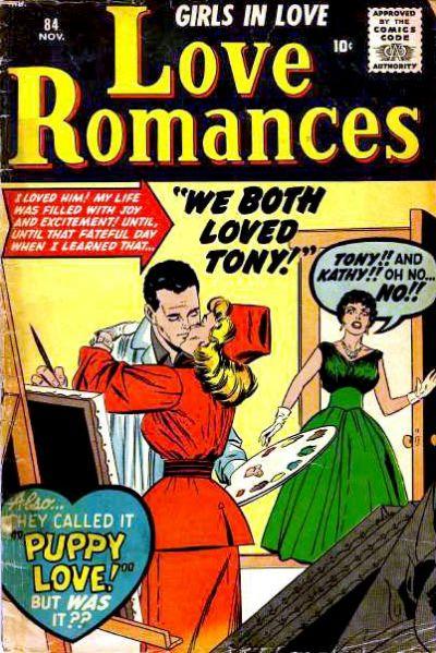 Cover for Love Romances (Marvel, 1949 series) #84