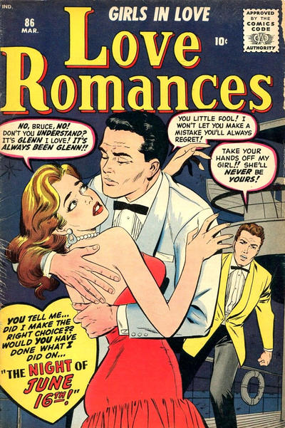 Cover for Love Romances (Marvel, 1949 series) #86