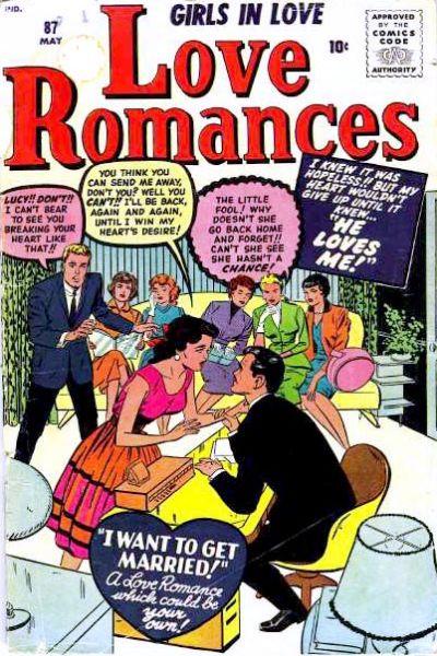 Cover for Love Romances (Marvel, 1949 series) #87