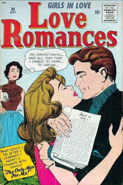 Cover for Love Romances (Marvel, 1949 series) #89