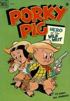 Cover for Four Color (Dell, 1942 series) #260 - Porky Pig, Hero of the Wild West