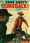 Cover for Four Color (Dell, 1942 series) #357 - Zane Grey's Comeback (The Shepherd of Guadaloupe)