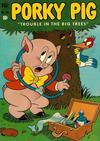 Cover for Four Color (Dell, 1942 series) #370 - Porky Pig, Trouble in the Big Trees