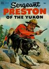 Cover for Four Color (Dell, 1942 series) #397 - Sergeant Preston of the Yukon