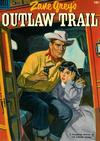 Cover for Four Color (Dell, 1942 series) #511 - Zane Grey's Outlaw Trail