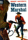 Cover for Four Color (Dell, 1942 series) #591 - Ernest Haycox's Western Marshal