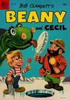 Cover for Four Color (Dell, 1942 series) #635 - Bob Clampett's Beany and Cecil