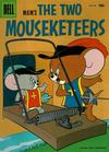 Cover for Four Color (Dell, 1942 series) #642 - M.G.M's The Two Mouseketeers