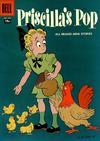 Cover for Four Color (Dell, 1942 series) #799 - Priscilla's Pop [15¢]