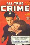 Cover for All True Crime (Marvel, 1949 series) #37