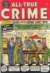 Cover for All True Crime (Marvel, 1949 series) #39