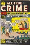 Cover for All True Crime (Marvel, 1949 series) #40