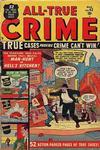Cover for All True Crime (Marvel, 1949 series) #43