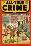Cover for All True Crime Cases (Marvel, 1948 series) #33