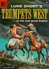 Cover for Four Color (Dell, 1942 series) #875 - Luke Short's Trumpets West!