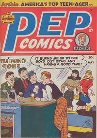 Cover Thumbnail for Pep Comics (Archie, 1940 series) #67