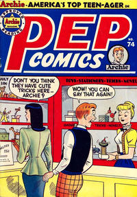 Cover Thumbnail for Pep Comics (Archie, 1940 series) #74