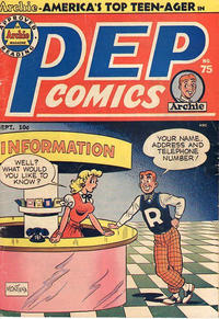 Cover Thumbnail for Pep Comics (Archie, 1940 series) #75