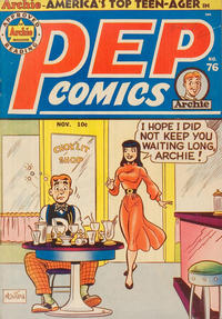 Cover Thumbnail for Pep Comics (Archie, 1940 series) #76
