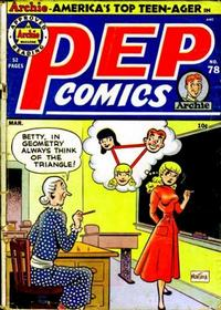 Cover Thumbnail for Pep Comics (Archie, 1940 series) #78