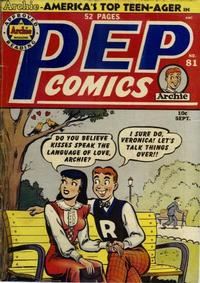 Cover Thumbnail for Pep Comics (Archie, 1940 series) #81