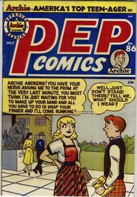 Cover Thumbnail for Pep Comics (Archie, 1940 series) #86