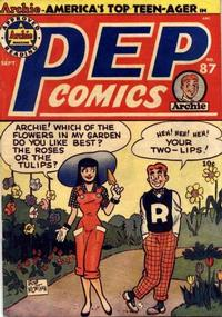 Cover Thumbnail for Pep Comics (Archie, 1940 series) #87