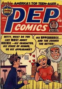 Cover Thumbnail for Pep Comics (Archie, 1940 series) #89