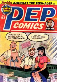 Cover Thumbnail for Pep Comics (Archie, 1940 series) #93