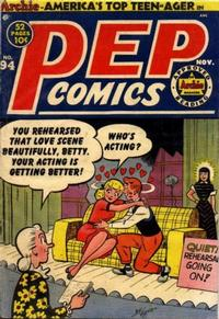 Cover for Pep Comics (Archie, 1940 series) #94