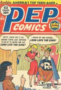 Cover Thumbnail for Pep Comics (Archie, 1940 series) #95