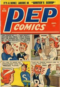 Cover Thumbnail for Pep Comics (Archie, 1940 series) #105