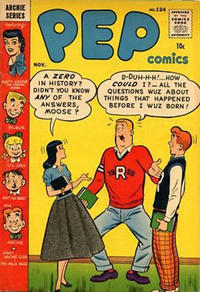 Cover Thumbnail for Pep Comics (Archie, 1940 series) #124
