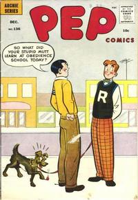 Cover Thumbnail for Pep Comics (Archie, 1940 series) #136