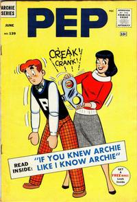 Cover Thumbnail for Pep (Archie, 1960 series) #139