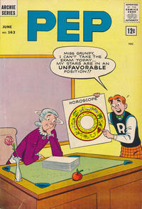 Cover Thumbnail for Pep (Archie, 1960 series) #163