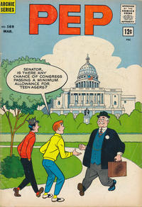 Cover Thumbnail for Pep (Archie, 1960 series) #169